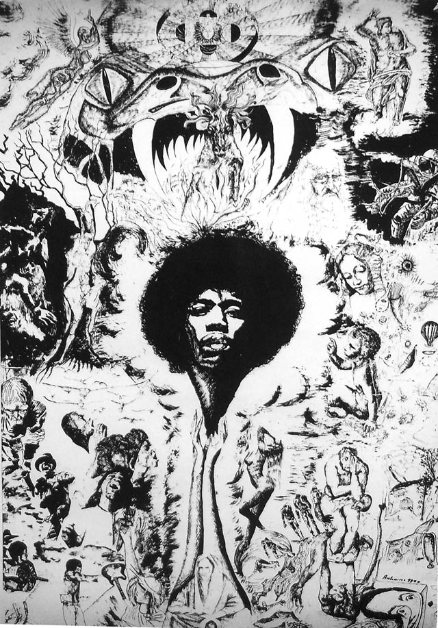 Hendrix - Bianco e nero