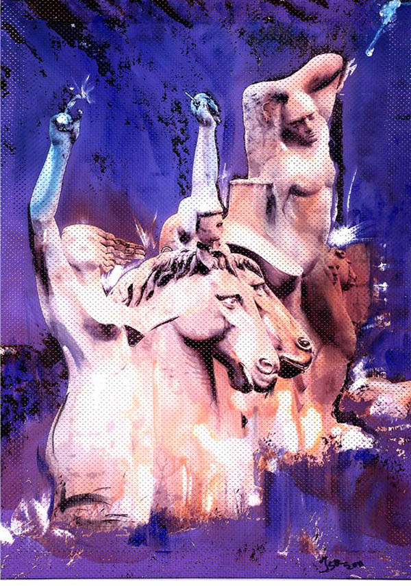 OLYMPIC STATUES