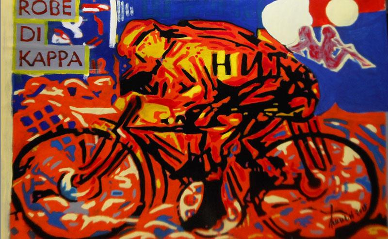 futurismo - il ciclista