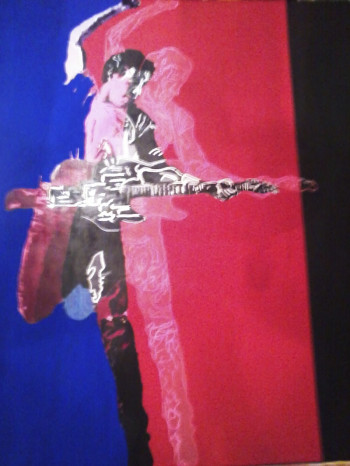 Born in the USA-Bruce Springsteen painting