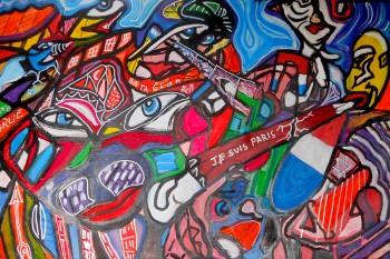 Acrilico e Pennarelli su Tavola  60 x 80 2016